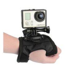 Glove Band 360 Rotation Mount for GoPro Hero 4/3+/3 SJ4000 SJ5000 SJ6000