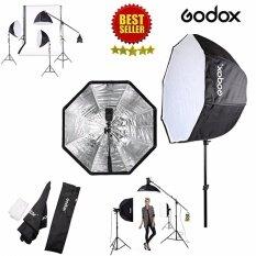 Godox ร่มสะท้อน ร่มทะลุ ร่มสะท้อนสำหรับไฟสตูดิโอ ร่มกระจายแสง ร่มแฟลช Softbox Godox 80 cm