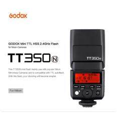โปรโมชั่น Godox Tt350N Hss 1 8000S Ttl 2 4G Wireless Mini Flash For Speedlite Nikon Intl ถูก
