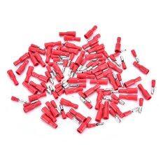 ซื้อ Good 50 Pairs 4Mm Female Male Bullet Connector Electrical Crimp Terminals Intl ใน จีน