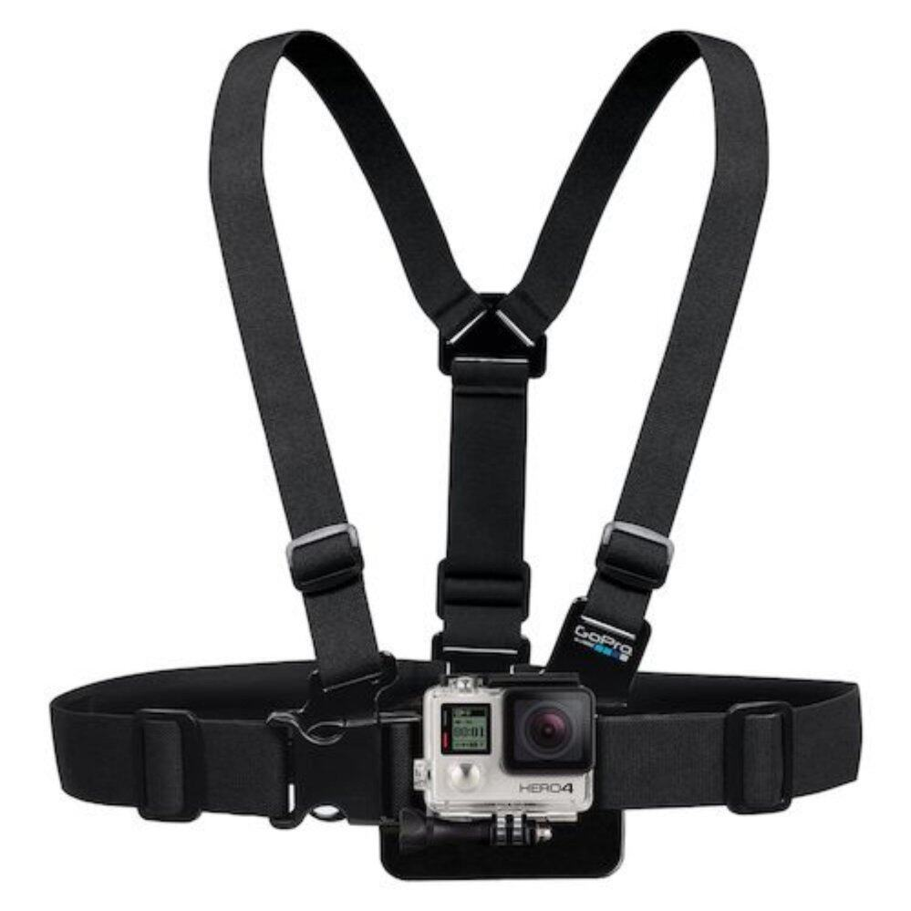 Gopro accessories Adjustable Elastic Body Harness Chest Strap Mount Band Belt for Go Pro Hero 4 3+ SJCAM action Camera
