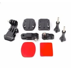 ขาย Gopro Helmet Front Mount For Gopro Hero 5 4 3 2 Gopro Accessories With Adjustment Curved Adhesive Bracket J Hook Buckle Gopro ออนไลน์