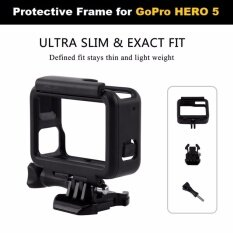 โปรโมชั่น กรอบ แข็ง กันกระแทก เคส สำหรับ Gopro Hero 5 Hero 6 Protective Housing Case Frame For Gopro Hero 5 Hero 6 Gopro ใหม่ล่าสุด