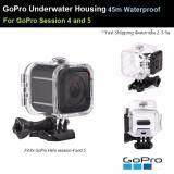 ซื้อ กรอบ กันน้ำ เคส ดำน้ำ สำหรับ Gopro Hero Session 4 And 5 Case Diving 45M Waterproof For Gopro Hero Session 4 And 5 ออนไลน์ กรุงเทพมหานคร