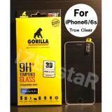 ขาย Gorilla 3D True Clear Tempered Glass กอริล่าฟิล์มกระจกนิรภัยใสเต็มจอขอบยาง For Iphone 6 6S Gorilla ใน กรุงเทพมหานคร