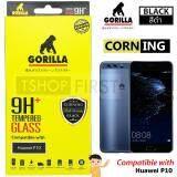 ขาย ซื้อ Gorilla Corning Tempered Glass กอริลล่า ฟิล์มกระจกนิรภัยเต็มหน้าจอ For Huawei P10 ใน สมุทรสาคร