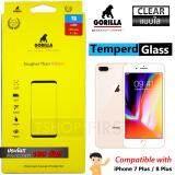 ขาย Gorilla Tempered Glass กอริลล่า ฟิล์มกระจกนิรภัย ไม่เต็มจอ For Iphone 8 Plus 7 Plus ใส เป็นต้นฉบับ