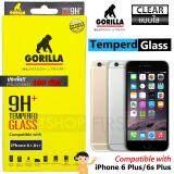 ขาย Gorilla Tempered Glass กอริลล่า ฟิล์มกระจกนิรภัย ไม่เต็มจอ For For Iphone6 Plus 6S Plus ใส ใน สมุทรสาคร
