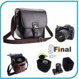 ขาย กระเป๋ากล้อง Goto Retro Style M90 By 9Final สำหรับใส่กล้อง Dslr Mirrorless Digital Camera Bag Dslr Mirror Less สีดำ Black ราคาถูกที่สุด