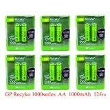 ขาย Gp Batteries Recyko 1000Series Aa 1000Mah จำนวน 12 ก้อน ถูก ใน ไทย
