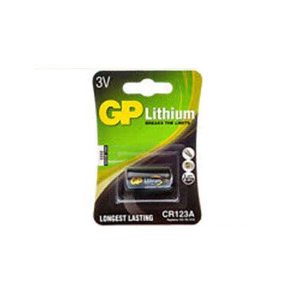 GP Battery Lithium Photo no.CR123 (Pack 10)