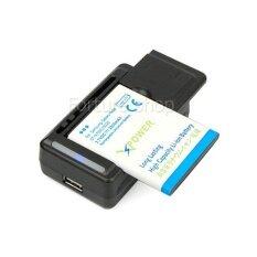 ที่ชาร์จถ่าน ที่ชาร์จแบตเตอรี่ อเนกประสงค์ อุปกรณ์ชาร์จ รองรับหลายขนาด ชาร์แบตเตอรี่ โทรศัพท์มือถือ GPS ขาปลั๊ก พักเก็บได้ 100V-240V LED 3.7V Li-ion Universal Charger for Rechargeable Li-ion Battery (ไม่รวมแบตเตอรี่)