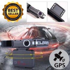 กล้องติดรถรูปแบบ GPS VGR HD กล้อง DVR กล้องติดรถ GPS กล้องรถจับความเร็ว