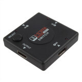 ราคา Gracefulvara 3 Port 1080P Hdmi Switch Selector Switcher Splitter Hub Remote For Ps3 Hdtv Ap ออนไลน์