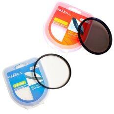 Green L UV + CPL 58mm Filter Protector Circular Polarizing ยูวีและซีพีแอล