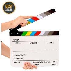 โปรโมชั่น Green Plus Acrylic Clapboard สเลทฟิล์ม อะคริลิคแท้ Slate Film ใน กรุงเทพมหานคร