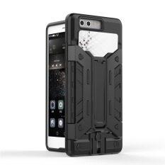 ราคา Guluguru For Huawei P9 Case X Armour Card Slot Pc Tpu Hybrid Back Cover With Kickstand Holder Card Storage Slot Armor Cell Phone Case เป็นต้นฉบับ