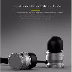 ขาย ซื้อ ออนไลน์ H5 Waterproof In Ear Wireless Microphone Stereo Earphone Sport Running Bluetooth4 1 Earphones Magnetic For Smartphone Intl