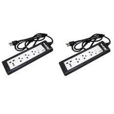 ราคา Haco รางปลั๊กคอม รางปลั๊กไฟพ่วงพร้อมสวิทซ์ 4ช่อง สายไฟยาว 3เมตร รุ่น Haco Ep Sfe3U จำนวน 2 อัน ออนไลน์