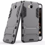 ขาย Hard Plastic Tpu Combo Armor Bracket Protective Cover Case For Huawei Ascend Y5 2017 Grey Intl ใน จีน