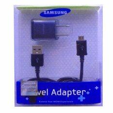 ขาย หัวชาร์ต สาย Samsung Galaxy J1 J2 J5 J7 Micro Usb Data Cable Home Wall Charger สีดำ Samsung ถูก