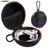 ขาย Haweel Portable Travel Bag Earphone Case Hard Eva Organizer Storage Zipper Pouch Headphone Sd Tf Card Cable Jewelry Container Intl ใน จีน