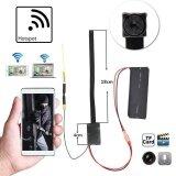 Hd 1080P Wireless Wifi Ip Hidden Camera Diy Module Mini Dvr Dv Detection Intl ใหม่ล่าสุด