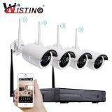 Wistinohd 960P Nvr Kit Plug And Play Wireless 4Ch Hdmi Cctv System Kit P2P Outdoor Ir Leds Night Vision Security Ip Camera Wifi Intl เป็นต้นฉบับ