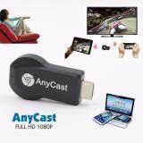 Hdmi Anycast รองรับIos8 9 10 11 1080P Wireless Wifi Display Tv Dongle Airplay Miracast Adapter Dongle Mini Tv Stick For Apple Ios Android Window Iphoneรองรับทุกอุปกรณ์ผ่านWifiเท่านั้น เป็นต้นฉบับ
