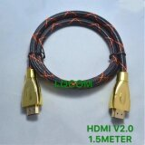 ราคา Hdmi Cable สาย Tv สาย Hdmi ยาว 1 5M เมตร V2 4K ใหม่ล่าสุด