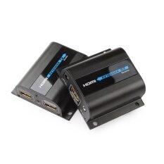 ซื้อ Hdmi Extender 1080P Hdmi Signal Up To 60M 196Ft Over Single Cat6 Network Cable Hdmi Extender Ir With Loop Out Intl ถูก ใน จีน