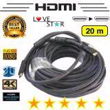 ทบทวน Hdmi สายHdmi M M 20เมตร V1 4
