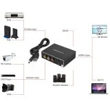 Hdmi To Av S Video Audio Video Signal Converter 1080P Hd Display Intl เป็นต้นฉบับ