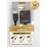 ราคา สายแปลงจาก Hdmi ออก Vga Audio Hdmi To Vga Audio Converter Adapter Hd1080P Cable Audio Output ยี่ห้อAdilink ใหม่ล่าสุด