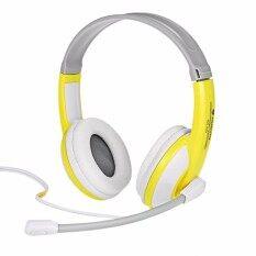 ราคา Headset Nubwo Gamer No 520 Yellow White Thailand