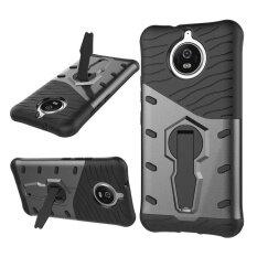 ราคา เกราะ Defender ปกหลัง 360 ขาตั้งหมุนกันกระแทก 2 ใน 1 ชิ้น ทีพียูสำหรับ Motorola Moto G5S นานาชาติ ออนไลน์ ฮ่องกง