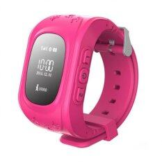 ขาย Hello Kids Watch นาฬิกาโทรศัพท์ Gps ติดตามตัว Limited Edition รุ่น Gw300 Pink