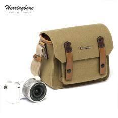 กระเป๋า Herringbone รุ่น Papas Pocket V3 Mini Khaki