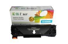 ตลับหมึกเลเซอร์ Hi-toner HP CE-285A สีดำ สำหรับเครื่องปริ้นเตอร์ HP