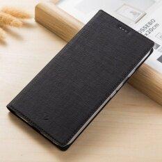 ซื้อ Hicase Slim Pu ป้องกันซัมซุง C9 Pro พร้อมช่องใส่การ์ดและขาตั้ง สีดำ Hicase ถูก