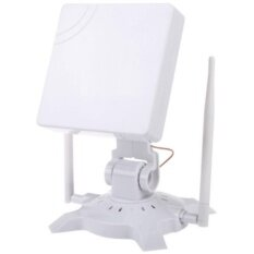 High Power Signal King 48Dbi Usb Wireless Adaptor Antenna 150Mbps 802 11B G 2 4G White Intl จีน