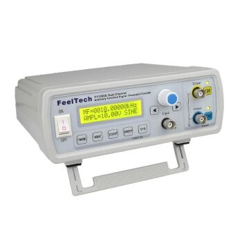 High Precision Digital DDS Dual-channel Function Signal Source Generator Arbitrary Waveform/Pulse Frequency Meter 12Bits 250MSa/s Sine Wave 24MHz - intl