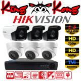ขาย Hikvision ชุดกล้องวงจรปิดกล้อง 8Ch Cctv กล้อง 6ตัว ทรงกระบอก และโดม 1 3 Mp Hd และอนาล็อก เครื่องบันทึก 8ช่อง 1080N Dvr Nvr Ahd Tvi Cvi Analog Ds 2Ce16C3T It3 Ds 2Ce56C3T It3 Hikvision
