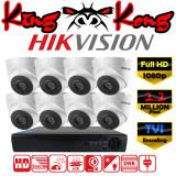 ราคา Hikvision ชุดกล้องวงจรปิดกล้อง 8Ch Cctv กล้อง 8ตัว โดม 2 Mp Full Hd และอนาล็อก เครื่องบันทึก 8ช่อง 1080P Dvr Nvr Ahd Tvi Cvi Analog Ds 2Ce56D1T It3 ถูก