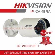 Hikvision DS-2CD2010F-I 1.3MP IP Mini Bullet Camera Lens 4mm