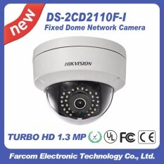 Hikvision IP CAMERA รุ่น DS-2CD2110F-I Support Mobile Monitoring via EZVIZ P2P ความละเอียด 1.3 ล้านพิกเซล