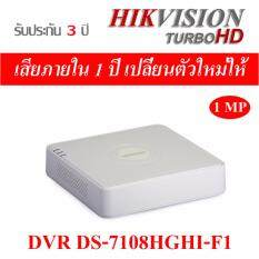 Hikvision DVR 8ch DS-7108HGHI-F1