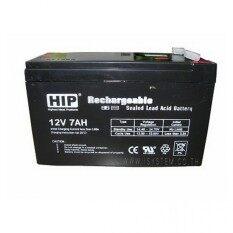 HIP 12V7AH แบตเตอรรี่แห้ง เครื่องสำรองไฟ UPS 12V 7.8 Ah