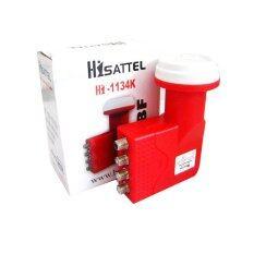 ทบทวน ที่สุด Hisattel Lnb Ku Band 11300 4Output รุ่น Hi 1134K