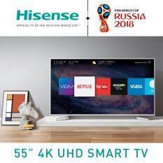 ราคา Hisense Smart 4K Uhd Hdr Local Dimming Tv With Matel Frame ขนาด 55 นิ้ว รุ่น 55M5010Uw เป็นต้นฉบับ